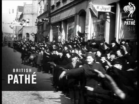 Hitler At Naval Base (1939)