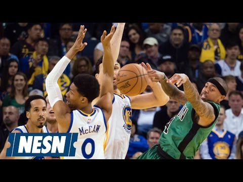 Celtics Hold Warriors To 12-Pt 4Q, Win At Oracle 99-86