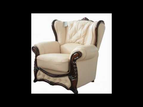 Кожаные кресла – удобнейшие предметы мебели в современном интерьере