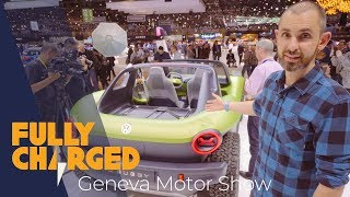 Download Geneva Motor Show 2019 electric vehicle highlights | Fully Charged Mp3 and Videos