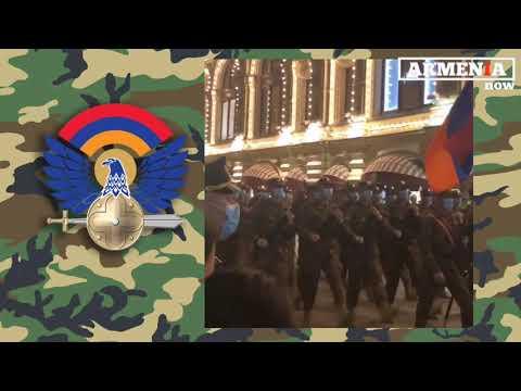 Очень мощно: Марш армянских солдат в Москве
