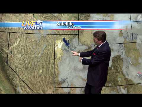 Dan Pope Weather 6 AM (Short Version) KSL-TV 11.29.2010