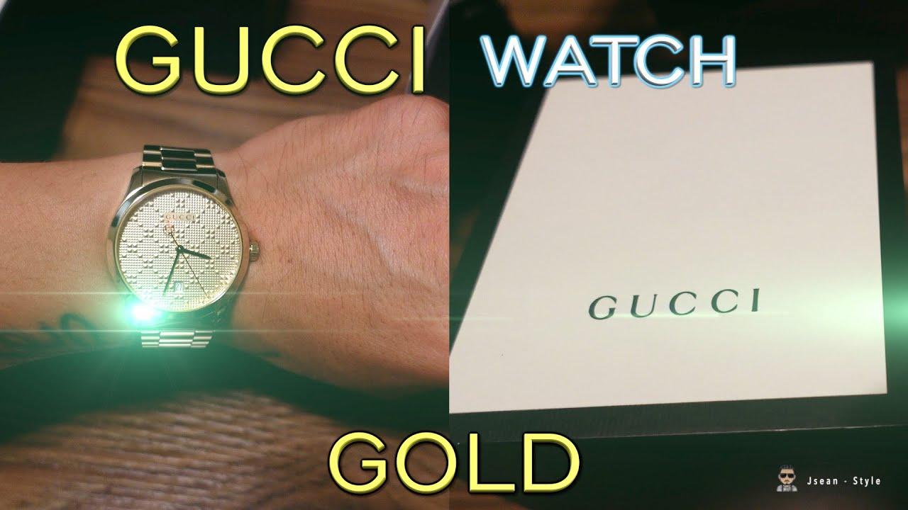 GUCCI watch GOLD!