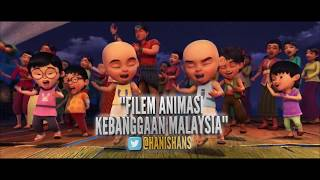 Gambar cover Review Upin & Ipin Keris Siamang Tunggal