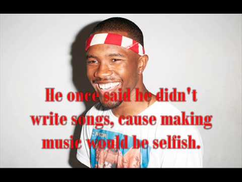 Frank Ocean - Eyes Like Sky Instrumental / Karaoke with Lyrics