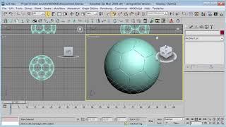 CRIANDO UM BOLA DE FUTEBOL NO 3D MAX (jozzineinovidades).mp4