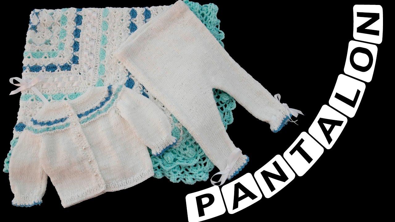 Como tejer un Pantaloncito Para Bebe de 0 a 3 Meses - YouTube