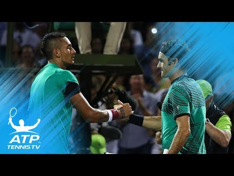 Best ATP Tennis Matches in 2017: Part 1 | Federer vs Kyrgios and more