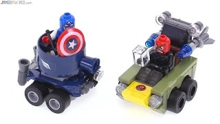 LEGO Mighty Micros Capt. America vs Red Skull review! 76065