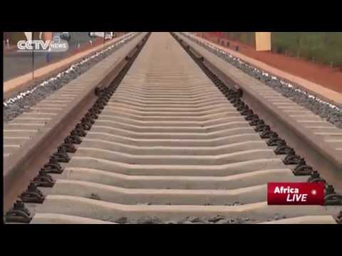 Kenya's First Standard Gauge Railway Laid At Mtito Andei, Witnessed By President
