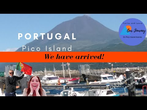 We have arrived on Pico Island Azores Portugal. Our journey continues! Join us on Pico! Episode 2.