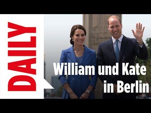 William und Kate in Deutschland - BILD-Daily live 19.7.2017
