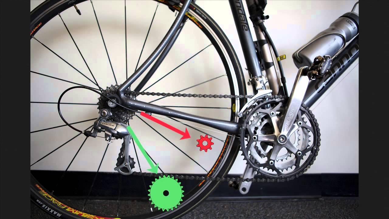 How to Win a Bike Race: Using Gears