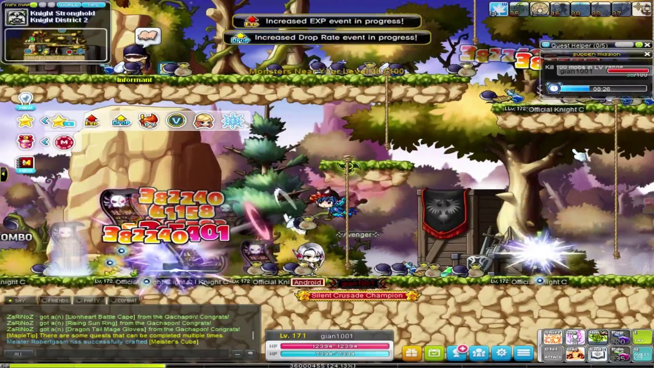 Maplestory 3x exp coupon stack