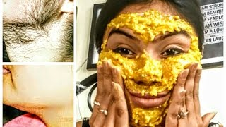 DIY-In 10 min Complete facial hair Removal | 100% natural | ishita chanda