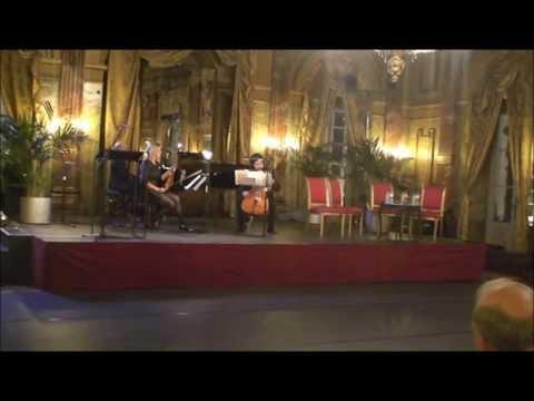 Thank you event Vlaamse Opera Gent Trio Dmitri Jurowski Ann Vancoillie Petros Balakos