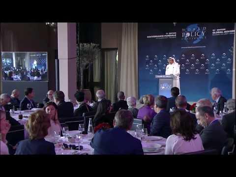 Lunch debate with Sheikh Mohammed bin Abdulrahman bin Jassim Al-Thani
