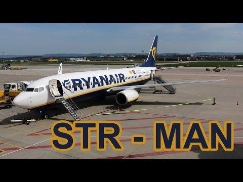 Ryanair flight Stuttgart - Manchester trip report