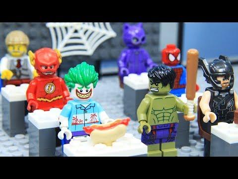 Lego Superhero School of Avengers and Justice League