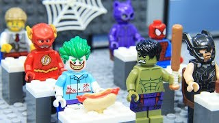 Lego Superhero School of Avengers and Justice League