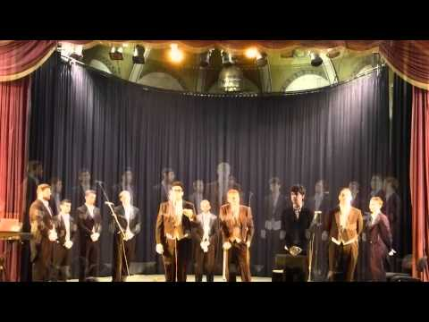 The Whiffenpoofs at the YMCA, Jerusalem, June 2014 - fragments from the concert