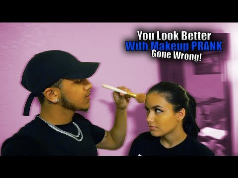 You're U.G.L.Y Without Makeup PRANK On Girlfriend! (Gone Wrong) thumbnail