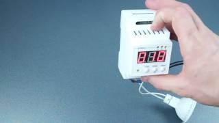 Циклический таймер HS-electro ТЦД2 на динрейку