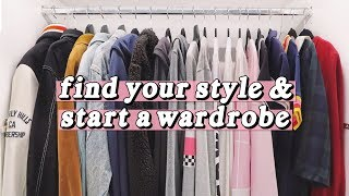 How To Find Your Style & Start A Wardrobe