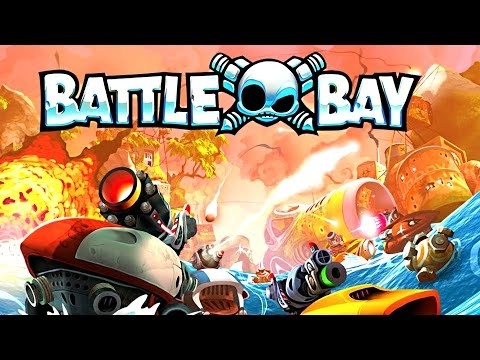 Battle Bay Gameplay - Shooter MK3 Cannon Build - Rovio's NEW Mobile MOBA Game - President Awall