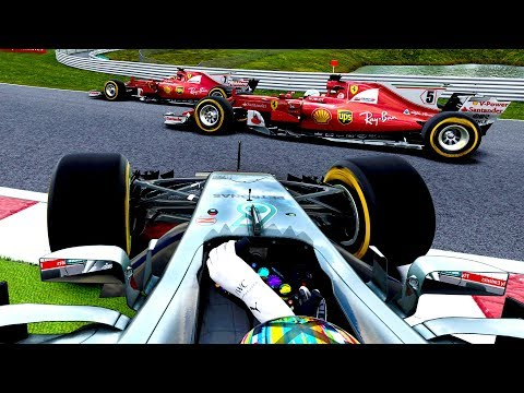 THIS WASN'T IN THE PLAN....... - F1 2017 Career Mode Part 136