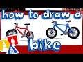 How To Draw A Bike 🚲