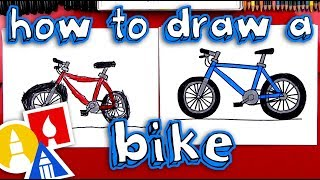 How To Draw A Bike 🚲