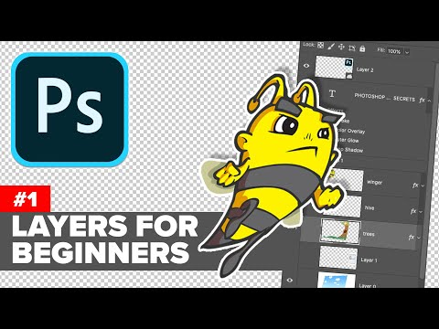 How To Use Photoshop Layers For Beginners,