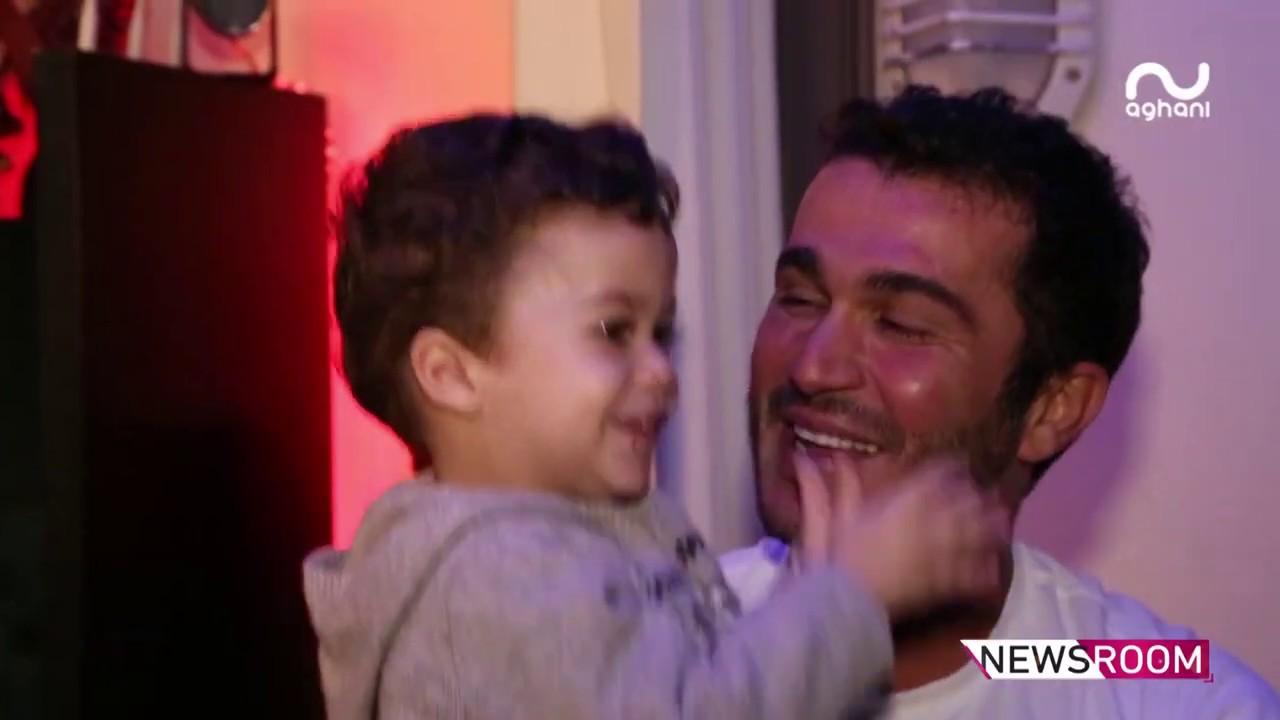 جورج الراسي يحتفل بعيد ميلاده الأربعين ويصرّح: أمنيتي أن أرى أبني جو رجلا ناجحا أمامي!