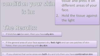 Ways to Determine and Maintain Your Skin Type Thumbnail
