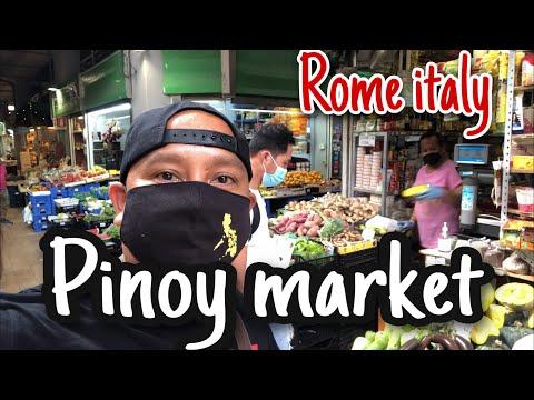 Pinoy market sa rome italy   pinoy biker italy