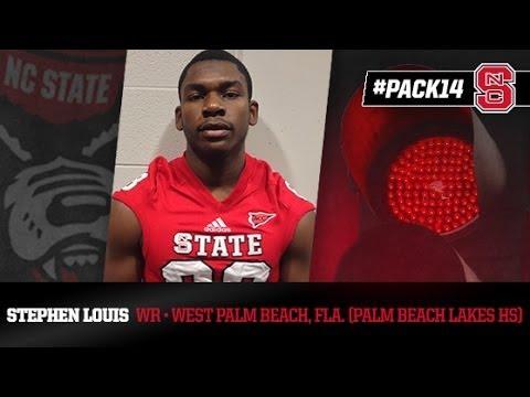 PACK14: Stephen Louis  WR  Palm Beach Lakes HS FL