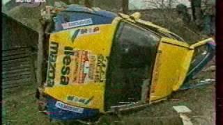 śmiertelny wypadek na rajdzie krakowskim 1992 death crash