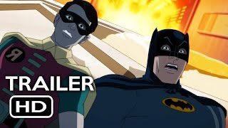 Batman: Return of the Caped Crusaders Official Trailer #1 (2016) Adam West Animated Movie HD