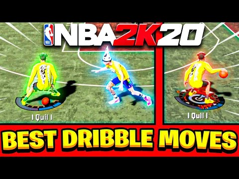 BEST DRIBBLE MOVES ON NBA 2K20! BEST DRIBBLE COMBOS REVEALED & ULTIMATE DRIBBLE TUTORIAL NBA 2K20