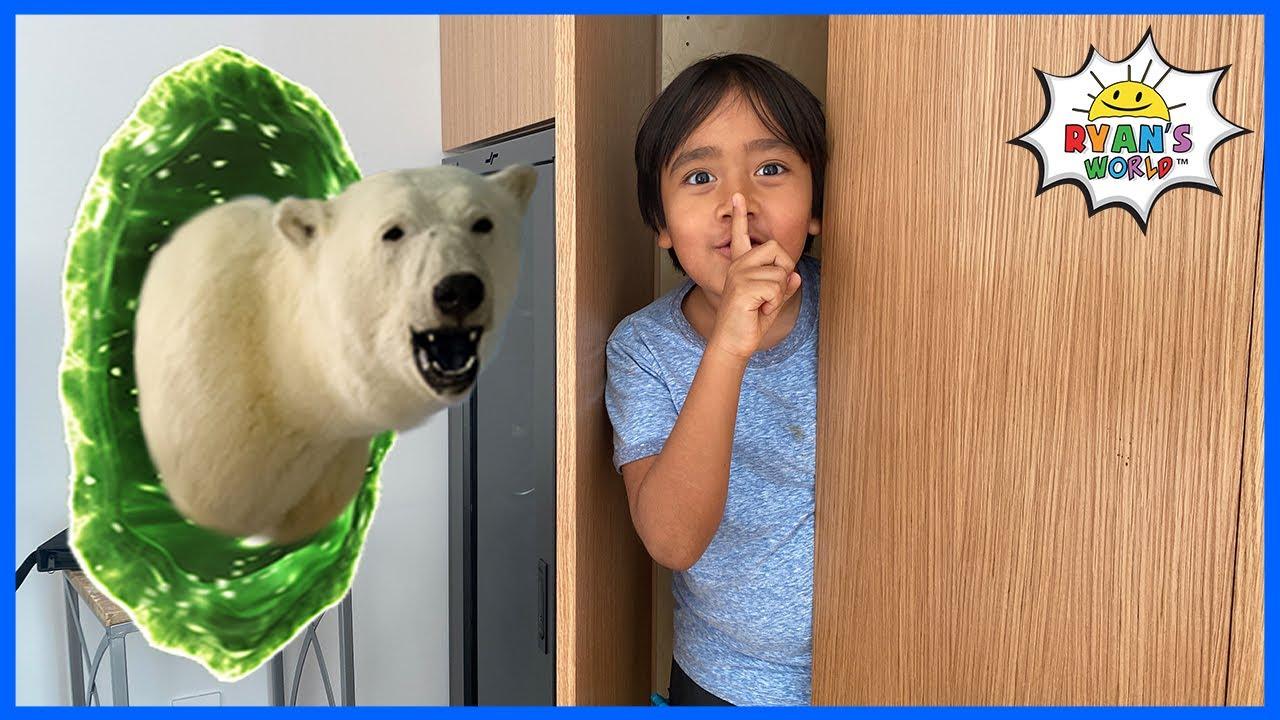 Wild Animals took over Ryan's House!