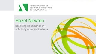 Breaking boundaries in scholarly communications