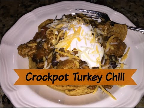 Easy Crockpot Turkey Chili | Cooking For Two