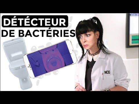 LPDV #110 DIY TRANSFORME TON TELEPHONE EN DETECTEUR DE BACTÉRIES