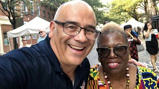 Jeannine LaRue has a fireside chat with Trenton's Mayor Reed Gusciora today @6 pm