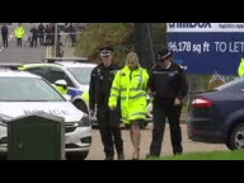 UK police: truck in which bodies found moved