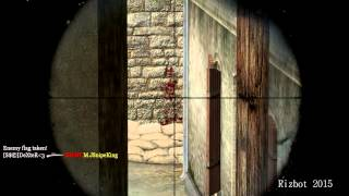Repeat youtube video Call of Duty 2 silent aim | Rizbot 2015