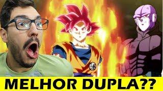 GOKU E HITTO MELHOR DUPLA?? DB Super ep.104 (react)
