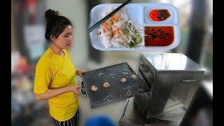 Cô chủ xinh đẹp bán bánh hấp Hồng Kông kiếm tiền triệu mỗi ngày