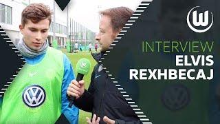 Startelf gegen Bayern München   Interview mit Elvis Rexhbecaj   VfL Wolfsburg